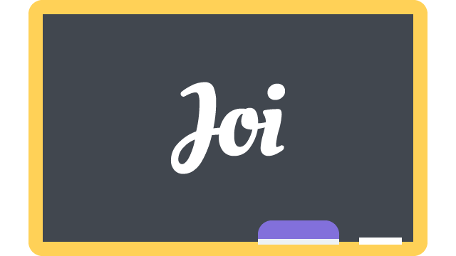 Getting started with Joi